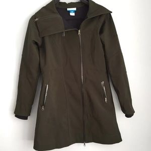 Columbia Belle De Tour Softshell Trench Jacket